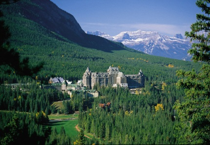View of Fairmont Banff Springs