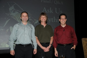 Andrei, Scott, and Herb at the conclusion of C&B 2011